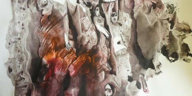 """اللوحة للفنان """"زهير حسيب"""""""