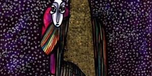 """اللوحة للفنان """"خالد نجار"""""""