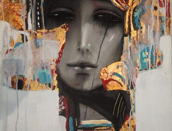 لوحة تشكيلية للفنان السوري زهير حسيب