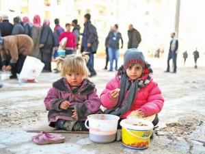 أطفالٌ سوريون/ جريدة الحياة