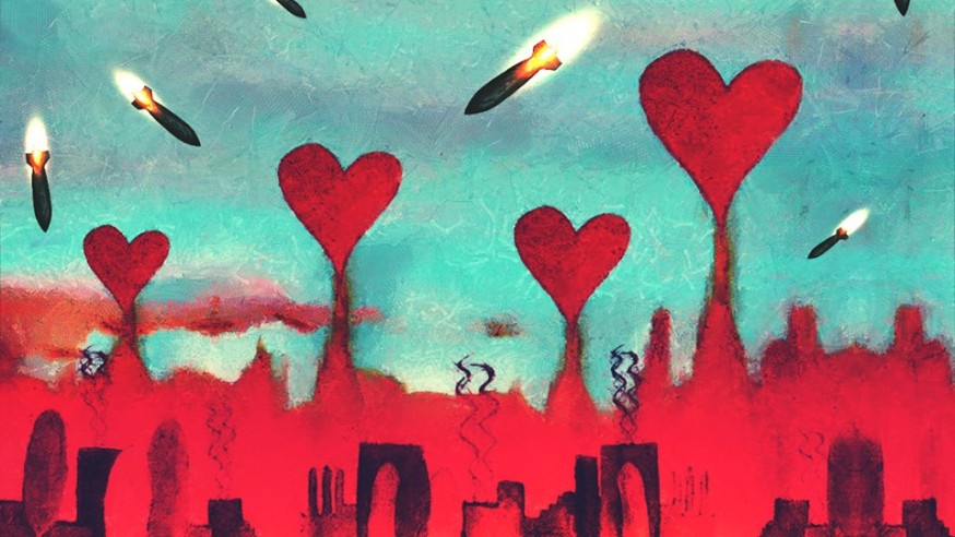 الحبّ & الحصار والقتل