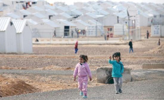 مخيم الأزرق للاجئين السوريين
