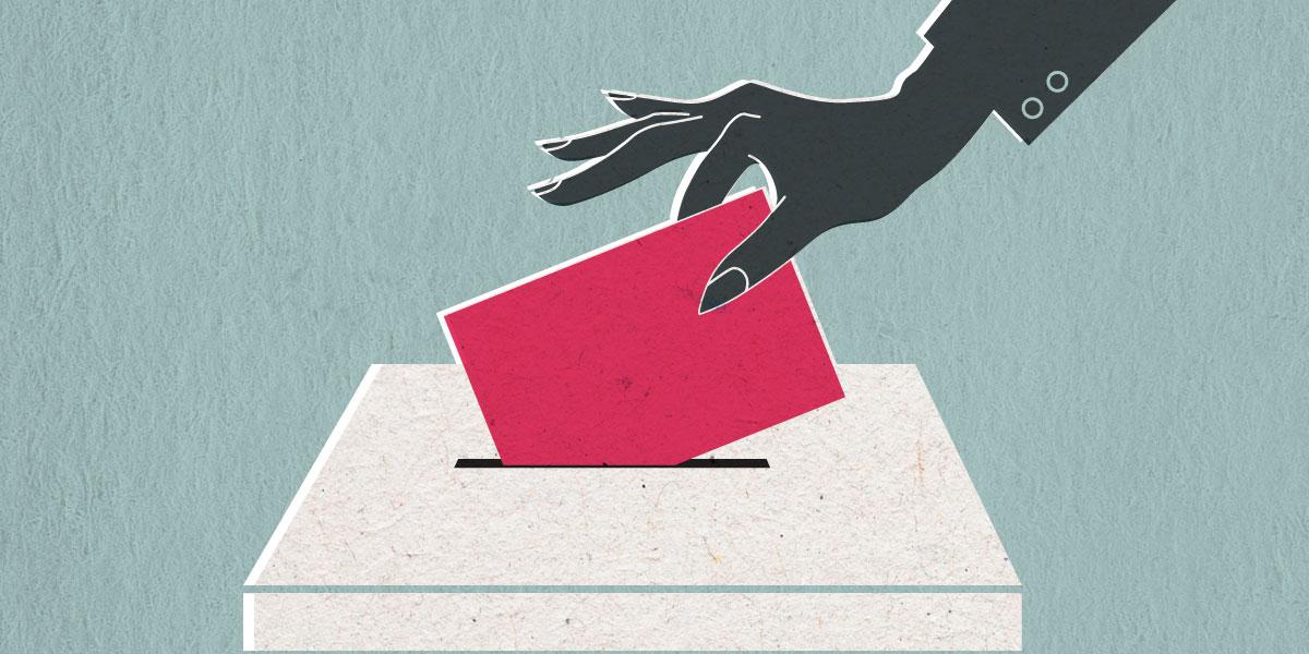 حق المرأة في الاقتراع