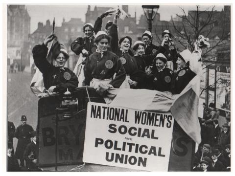 الاتحاد السياسي والاجتماعي للمرأة Women's Social and Political Union WSPU