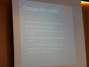 """أعمال اليوم الأول المؤتمر الدولي """" النظم الانتخابية والمساواة المبنية على النوع الاجتماعي في الإنتقالات الديمقراطية"""" في جنيف"""