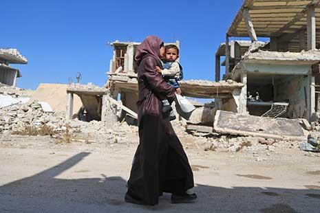 المرأة السورية في ظل النزاع