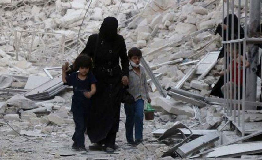 المرأة السورية بين جحيم الحرب وأعباء اللجوء