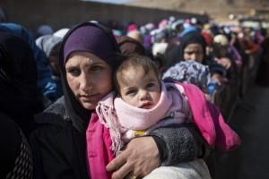 لاجئات سوريات/ أرشيف التيلغراف البريطانية