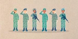 المرأة العربية في الخدمة العسكرية