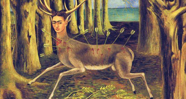 اللوحة للفنانة فريدا كالو Frida Kahlo