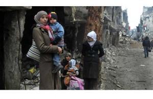 لاجئو فلسطين في سوريا يتحدون «نقطة تفتيش الموت»