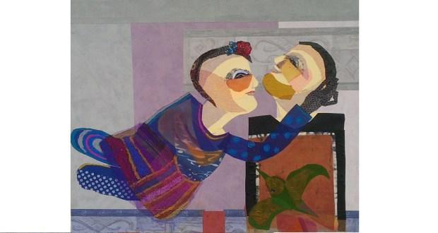 اللوحة للفنانة هبة العقاد Facebook /Heba.Alakkad.Art