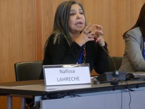 الباحثة الجزائرية نفيسة لحرش / IFE-EFI
