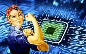 المرأة والتكنولوجيا