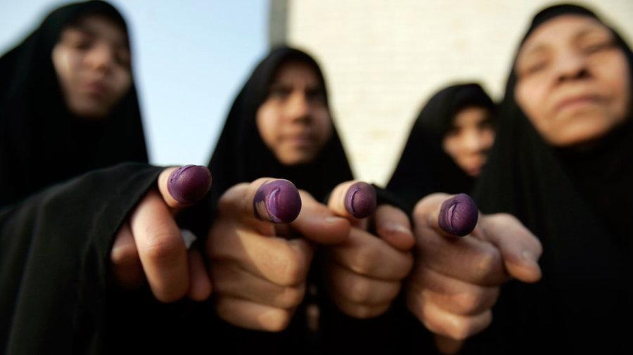 المرأة والانتخابات في العراق