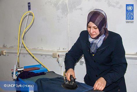 برنامج الأمم المتحدة الانمائي في سوريا / حماة