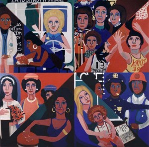 Faith Ringgold, For The Women's House, 1971.
