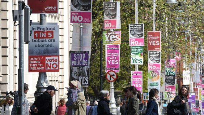استفتاء تاريخي في أيرلندا على حقّ الإجهاض