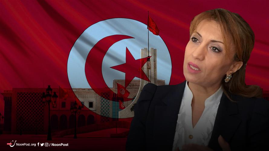 سعاد عبد الرحيم مرشحة حزب النهضة التونسي لرئاسة بلدية تونس العاصمة
