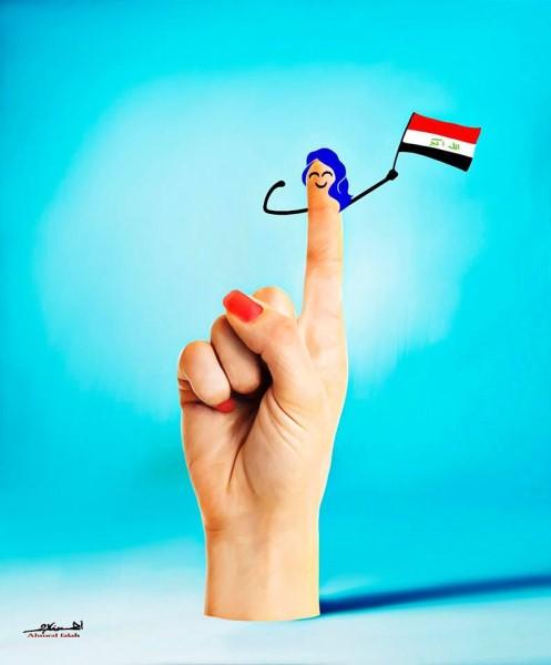 المرأة في الانتخابات العراقية 2018