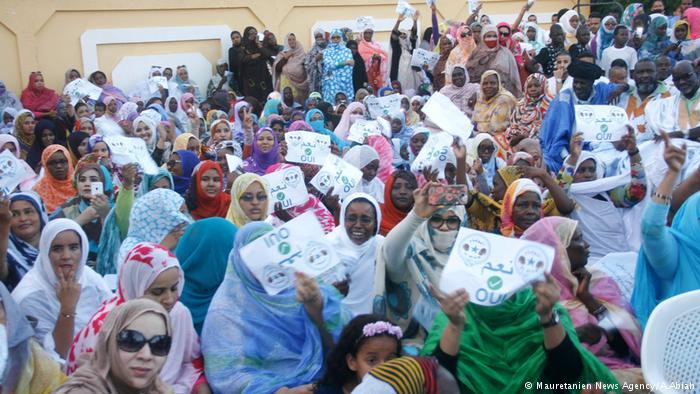 المشاركة السياسية للمرأة الموريتانية