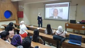 محاضرة في جامعة دمشق 2018