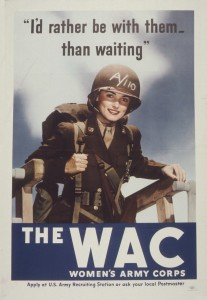 WWII WAC Recruiting Poster