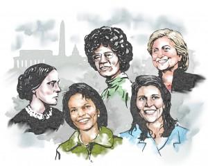 المرأة الأميركية في الحياة السياسية