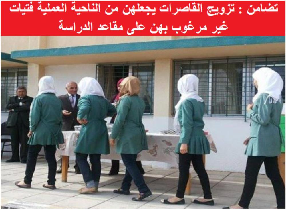 """التزويج المبكر في الأردن / جمعية """"تضامن"""""""