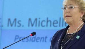 ميشيل باتشيليت تترأس مفوضية حقوق الإنسان