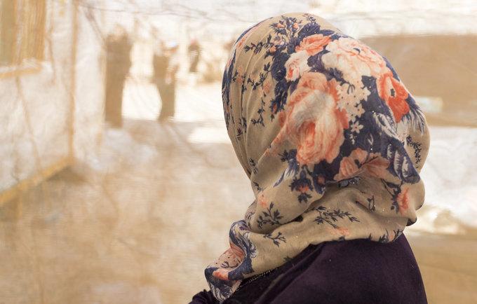 لاجئة سورية في مخيّم الزعتري/ UNFPA