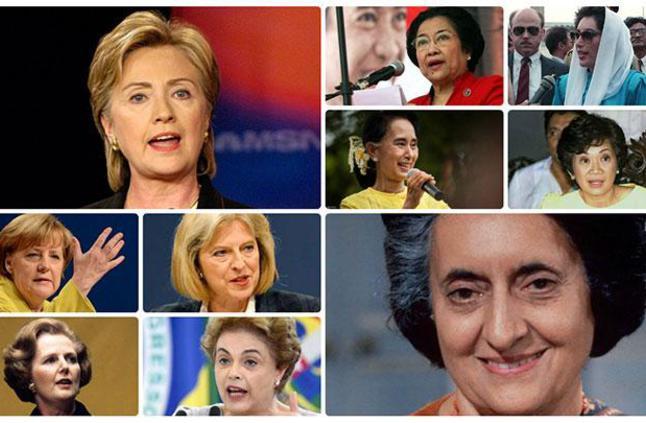 نساءٌ في سدّة الحكم