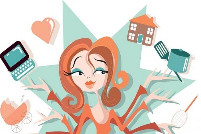 عمل المرأة في المنزل/ العمل المنزلي