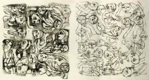 لوحة للفنان التشكيلي السوري فادي يازجي