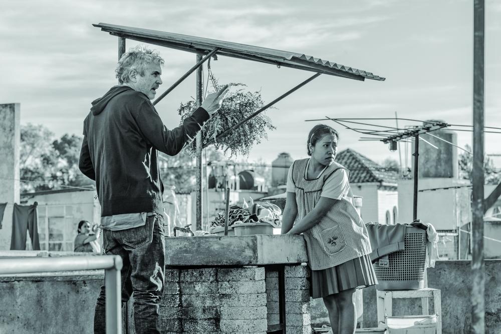 فيلم «روما» للمخرج المكسيكي ألفونسو كوارون