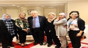 ناشطات يمنيات في لقاءٍ مع المبعوث الأممي الخاص لليمن