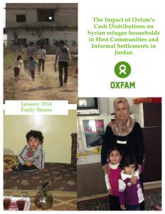 مشاريع أوكسفام في الأردن