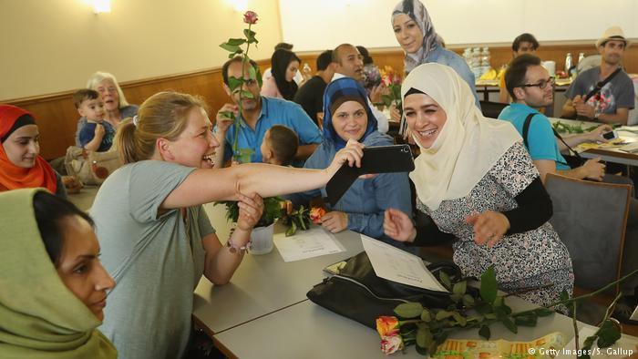 النساء اللاجئات في ألمانيا/ DW