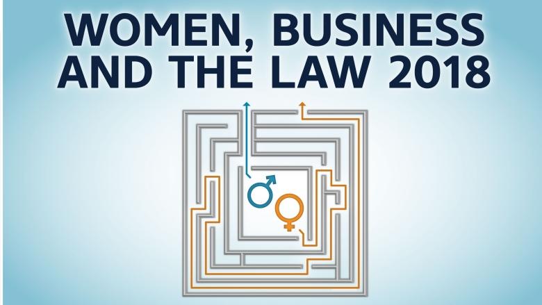 المرأة والأعمال التجارية والقانون 2018