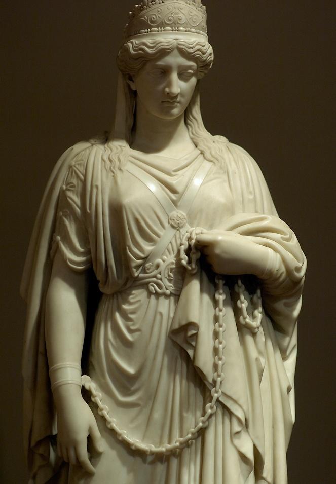 منحوتة للملكة زنوبيا
