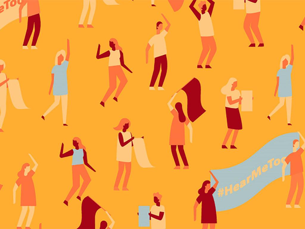 ملصق شعار حملة العام للقضاء على العنف ضد المرأة/ الأمم المتحدة