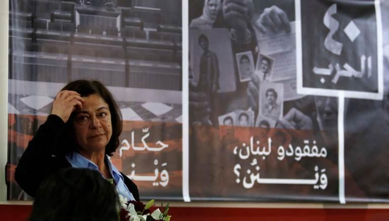 ودادحلواني.. أطلقت عريضة وطنية للمطالبة بالكشف عن مصير المفقودين