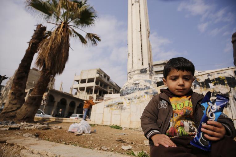 طفل سوري/ اليونيسيف