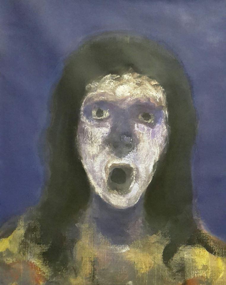 """لوحة للفنان """"سلام أحمد"""""""