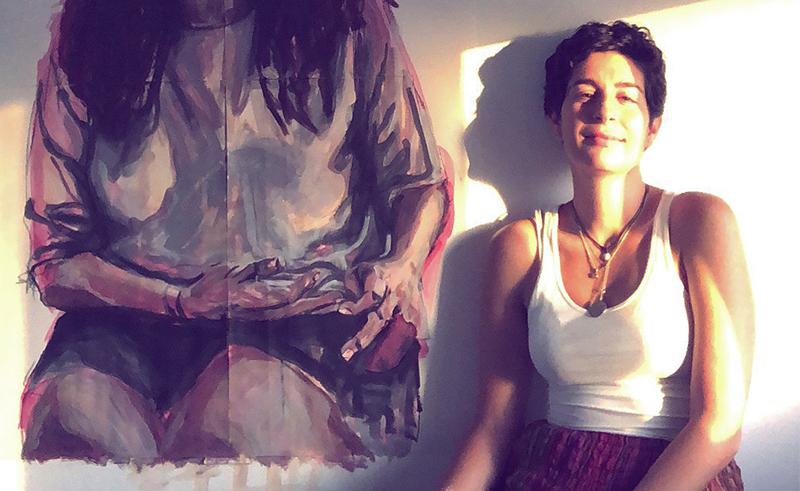 مالدا صمادي، الفنانة السورية المقيمة في الإمارات