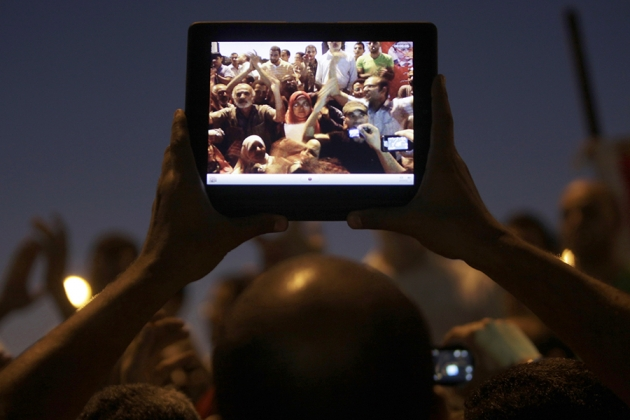 دور المرأة السياسي في الربيع العربي