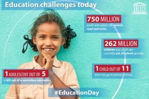 اليونسكو: 617 مليون طفل لا يعرفون القراءة والحساب!