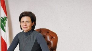 أول وزيرةداخلية لبنانية ريا الحسن