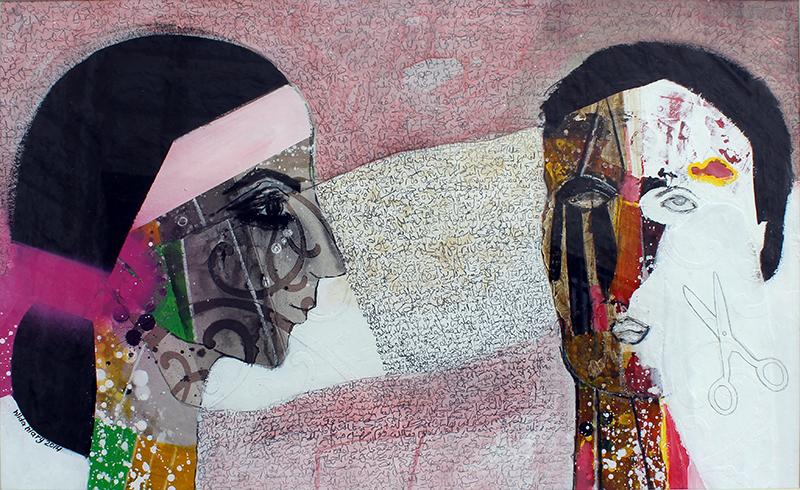 لوحة للفنانة هيلدا الحياري - الأردن
