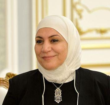 السيدة ريمه القادري وزير الشؤون الاجتماعية والعمل